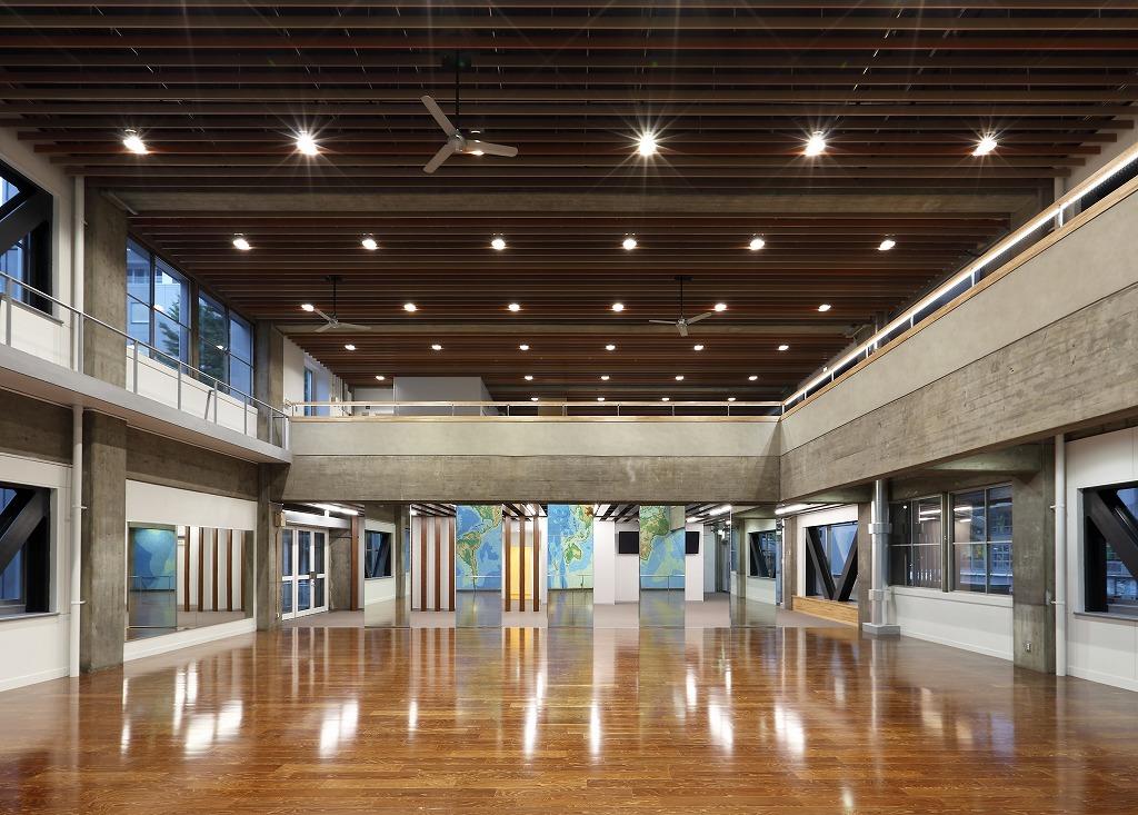 神奈川大学-横浜キャンパス8号館マップホール改修工事